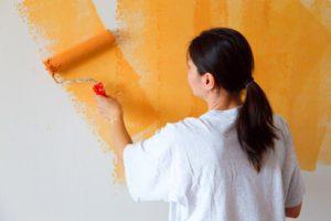 Окраска бетонной поверхности