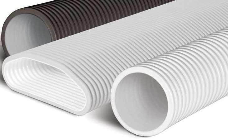 Рифлені пластикові труби для вентиляції