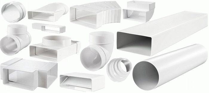 Види пластикових труб для вентиляції