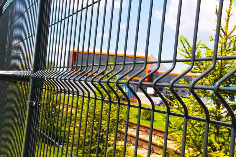 Современный 2D забор
