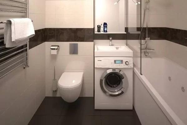 Раковина для установки на стиральную машину
