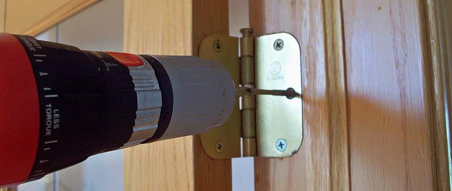 Усиление петель межкомнатной двери