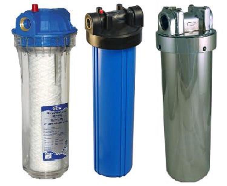 Фільтри тонкого очищення води