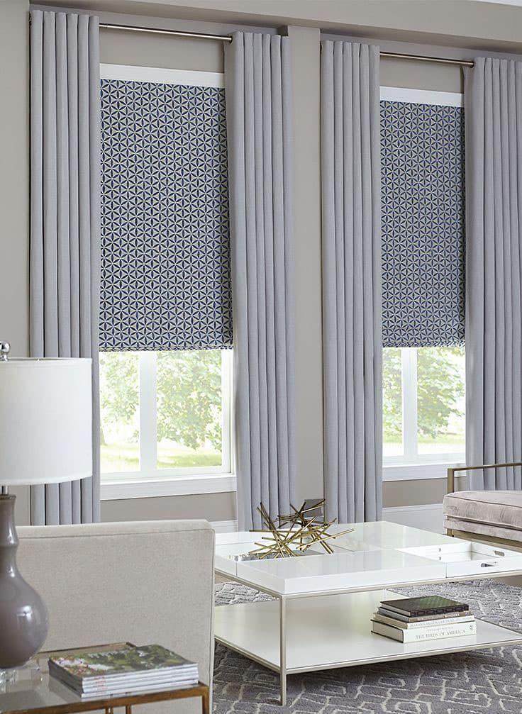 современные шторы на окнах в картинках применения разновидности