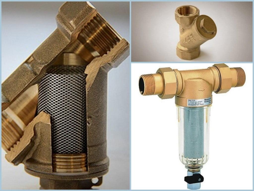 Сітчастий фільтр грубої очистки води