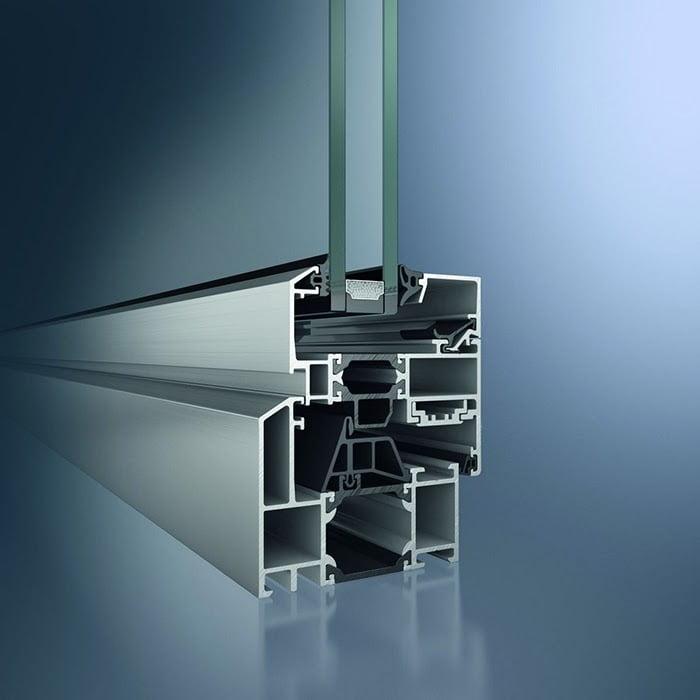 Алюминиевый оконный профиль Schuco