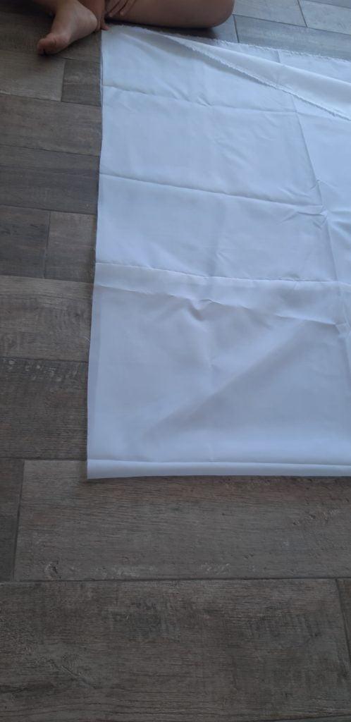 Разметка ткани натяжного потолка