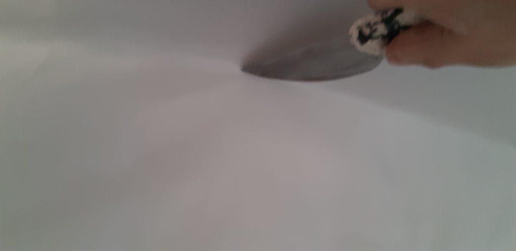 Шпатель для натяжного потолка