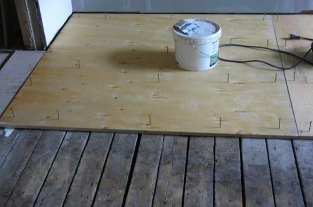 Фанера на дерев'яну підлогу