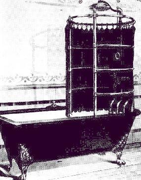 История душевой кабины