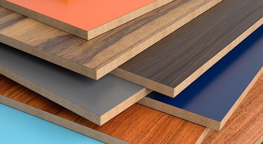 ЛДСП панелі мають широку кольорову гаму