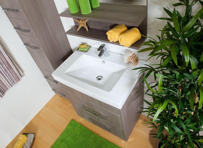 Меблі з ЛДСП здатні витримати вплив пара, води і значні перепади температури