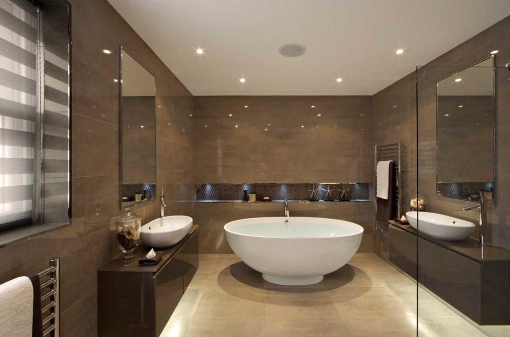 Сантехніка для оформлення сучасної ванної кімнати