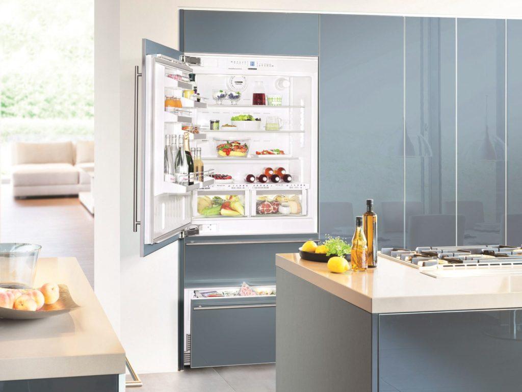 Вбудований холодильник LG