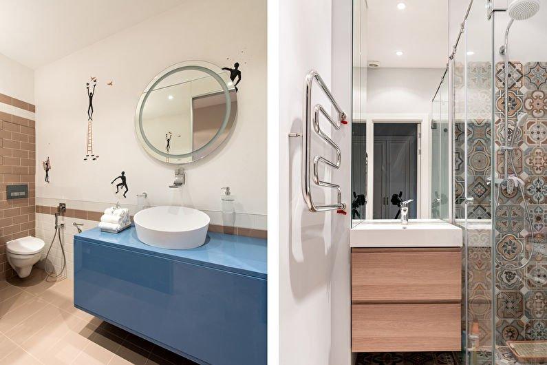 Ванная комната в современном стиле