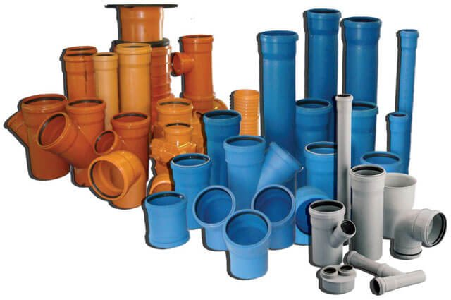 Виды канализационных пластиковых труб